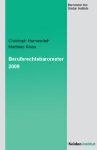Berufsrechtsbarometer 2009