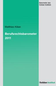 Berufsrechtsbarometer 2011