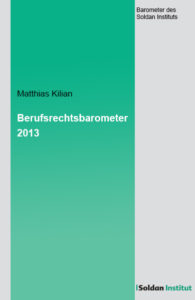 Berufsrechtsbarometer 2013