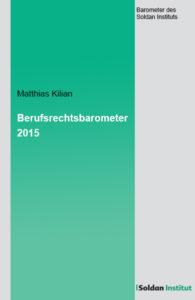 Berufsrechtsbarometer 2015