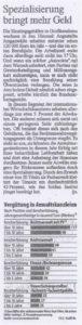 Ausschnitt FAZ 03.02.2014
