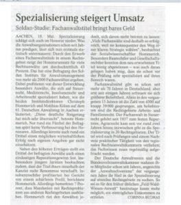 Ausschnitt FAZ 19.05.2012