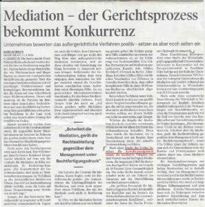 Ausschnitt Handelsblatt 21.09