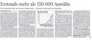 Ausschnitt Handelsblatt 25.06.2009