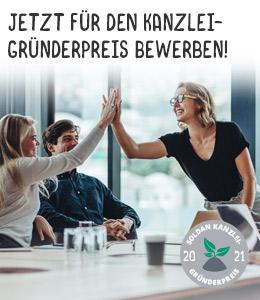 Zur Kanzlei-Gründerpreis Bewerbung